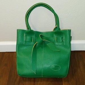 Tod's green shoulder bag